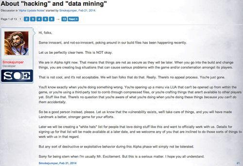 EQNL Hacking Data Mining